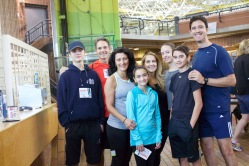 Beatrice Povolo and her family at the Pickering Terry Fox Run